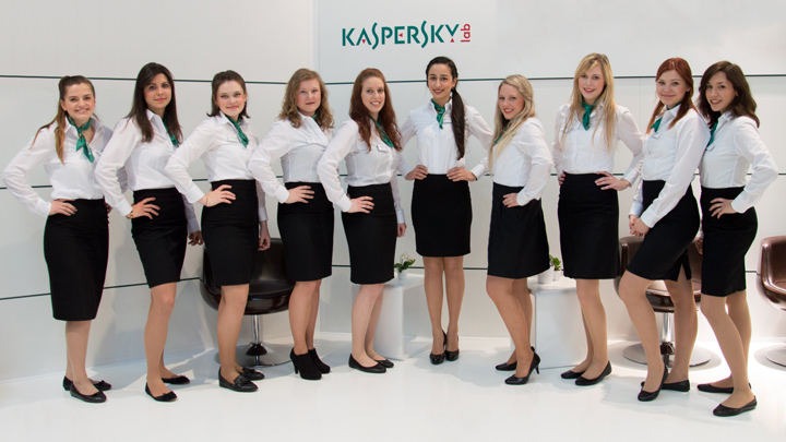 Messehostessen Team