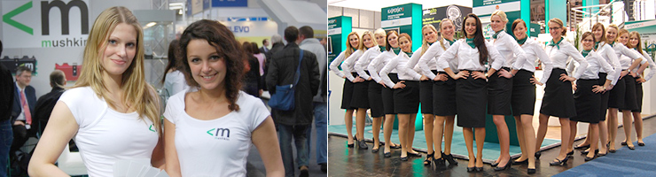 Messe Promotion in Essen