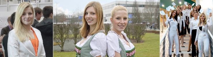 Hostesses in Freiburg