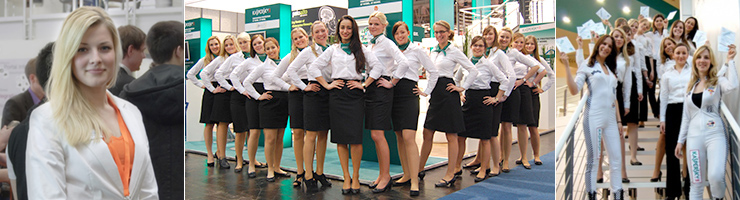 Trade Show Staff in Bayreuth