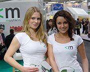 Messe-Promotion von clever events